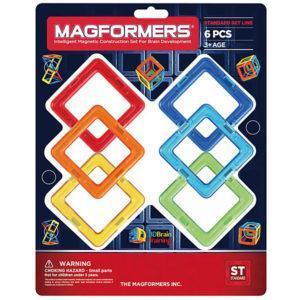 Магнитный конструктор Magformers «6 квадратов»