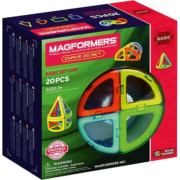 Магнитный конструктор Magformers «Базовый набор» (20 деталей, арт. 701010)