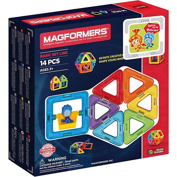 Магнитный конструктор Magformers «Базовый набор для малышей» (14 деталей)