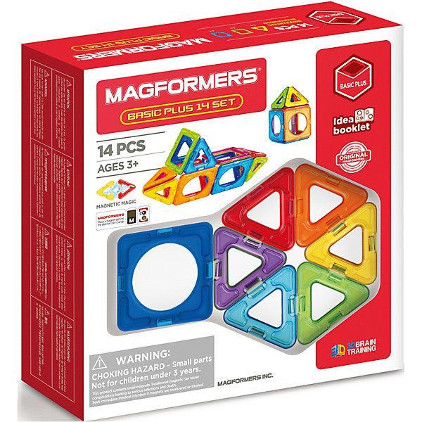 Магнитный конструктор Magformers «Базовый набор плюс» (14 деталей)