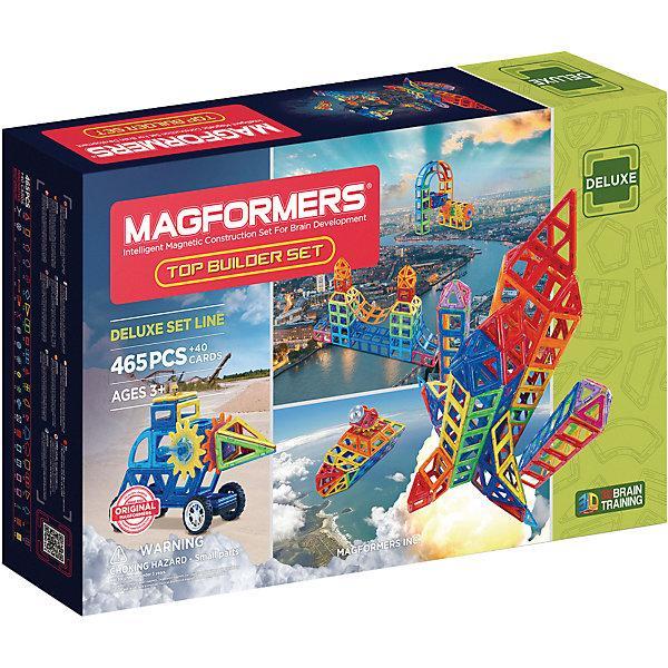 Магнитный конструктор Magformers «Большой строительный набор» (465 деталей)