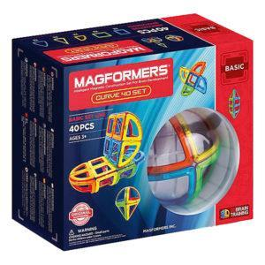Магнитный конструктор Magformers «Curve 40 set» (40 деталей)