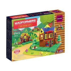 Магнитный конструктор Magformers «Деревянные домики» (87 деталей)