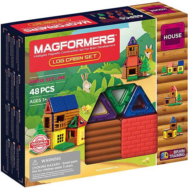Магнитный конструктор Magformers «Домик на лужайке» (48 деталей)