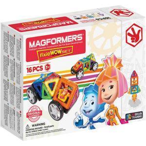 Магнитный конструктор Magformers «Фиксики» (12 деталей)