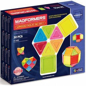 Магнитный конструктор Magformers «Глухие окна» (30 деталей, арт. 714006)
