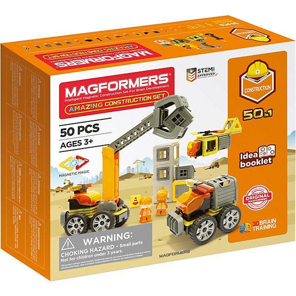 Магнитный конструктор Magformers «Юный строитель» (50 элементов)