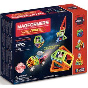 Магнитный конструктор Magformers «Космический набор» (22 детали)
