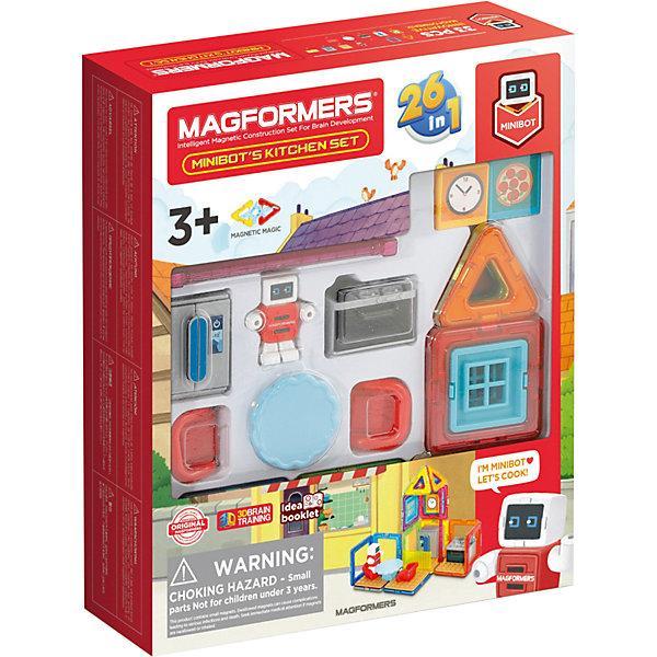 Магнитный конструктор Magformers «Кухня минибота» (33 элемента)