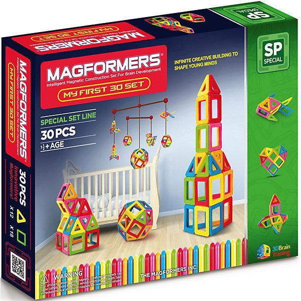 Магнитный конструктор Magformers «Мой первый набор» (30 деталей)
