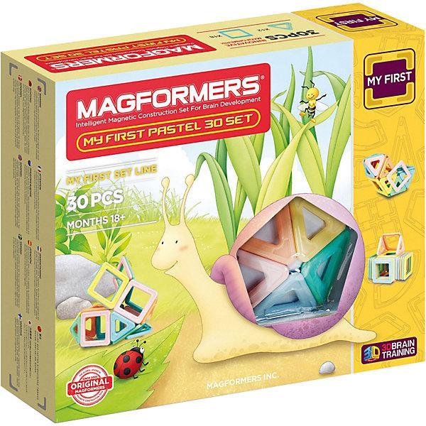 Магнитный конструктор Magformers «My First Pastel Set» (30 деталей)
