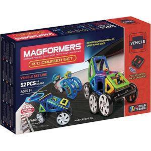 Магнитный конструктор Magformers на радиоуправлении «Cruiser Set» (52 элемента)