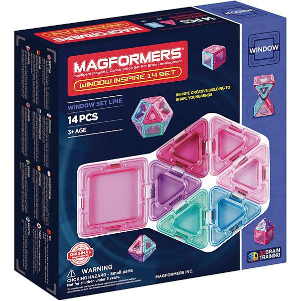 Магнитный конструктор Magformers «Окна вдохновения» (14 элементов)