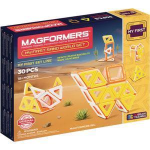 Магнитный конструктор Magformers «Песочный мир» (30 деталей)