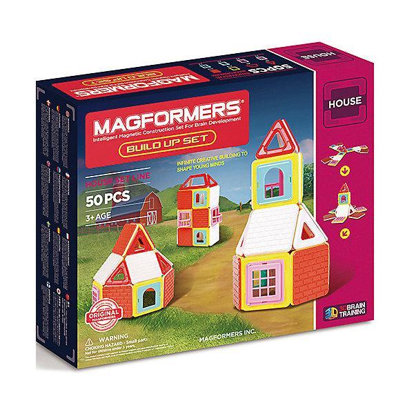 Магнитный конструктор Magformers «Построй дом» (50 деталей)