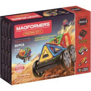 Магнитный конструктор Magformers с дистанционным управлением «Набор гонщика» (39 деталей)