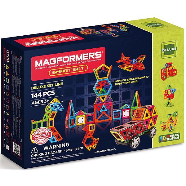 Магнитный конструктор Magformers «Умный набор» (144 детали)