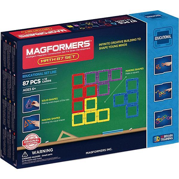Магнитный конструктор Magformers «Увлекательная математика» (87 элементов)