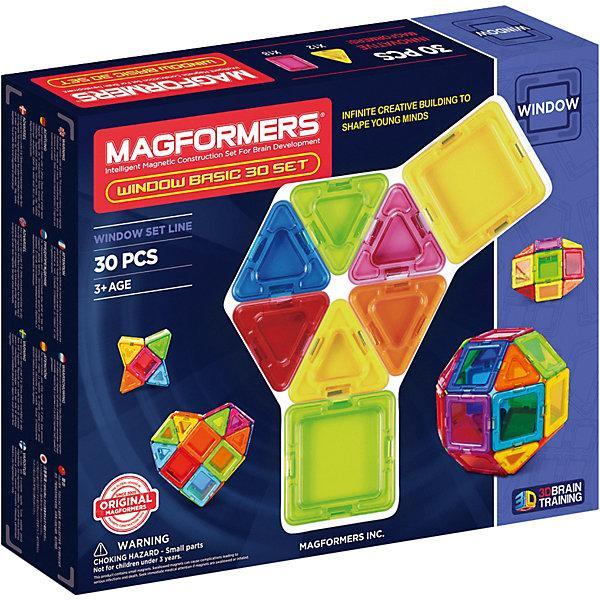 Магнитный конструктор Magformers «Window Basic» (30 деталей)