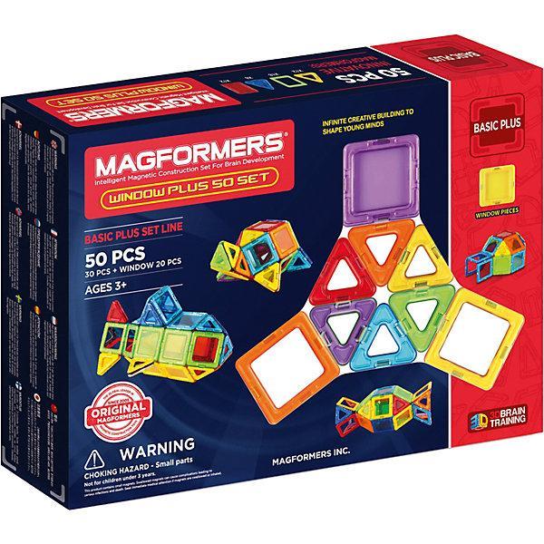 Магнитный конструктор Magformers Window Plus 50 Set
