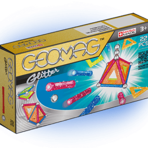 Магнитный конструктор GEOMAG 530 Glitter 22 детали