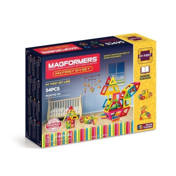 Магнитный конструктор MAGFORMERS 702002 (63108) My First Magformers 54