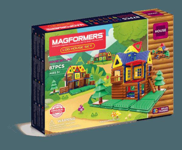 Магнитный конструктор MAGFORMERS 705004 Log House Set