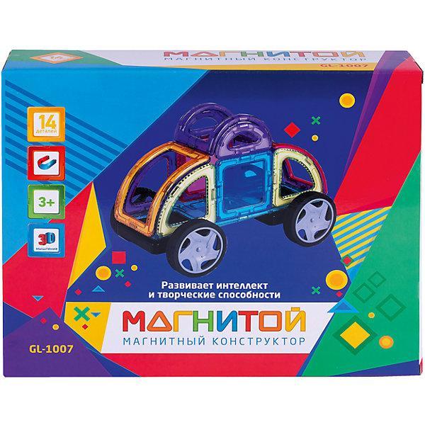Магнитный конструктор «Магнитой: Машинка» (14 деталей)