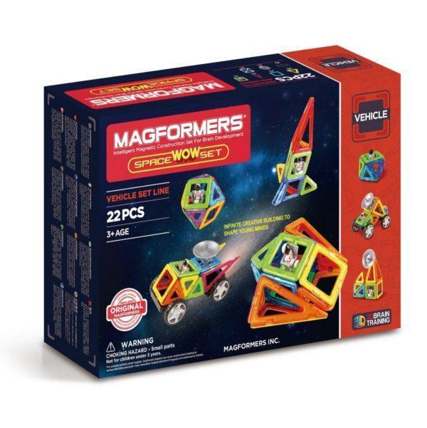 Магнитный конструктор «Space Wow Set» (22 элемента)