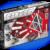 Магнитный молекулярный конструктор «GEOMAG 012 Black and White» (68 деталей)