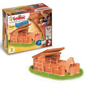 Строительный конструктор Teifoc «Конюшня»