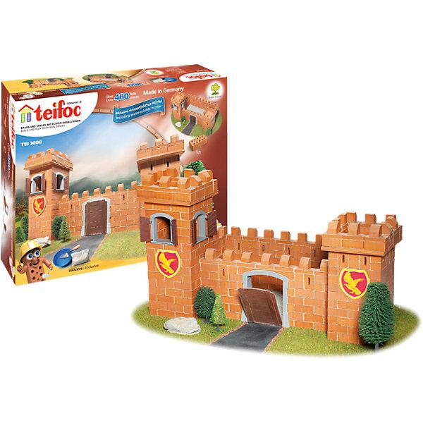 Строительный конструктор Teifoc «Рыцарский замок» (460 деталей)