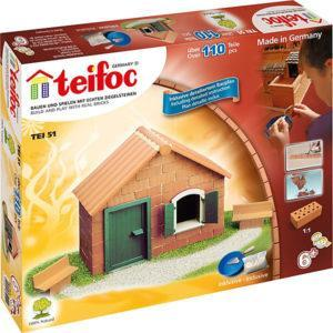 Строительный конструктор Teifoc «Сельский дом» (110 деталей)