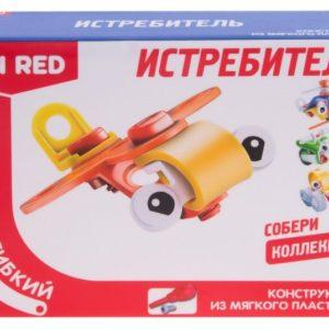 Гибкий конструктор Fun Red «Истребитель» (12 деталей, арт. FRCF001-F)