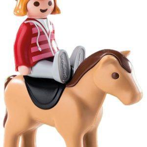 Игровой набор Playmobil «1.2.3.: Наездница на лошади» (арт. 6973)