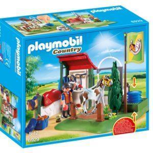 Игровой набор Playmobil «Ферма: Грумерская станция для лошадей» (арт. 6929)