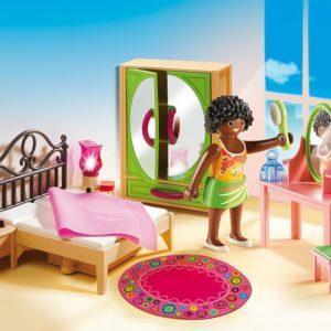 Игровой набор Playmobil «Кукольный дом: Спальная комната с туалетным столиком» (арт. 5309)