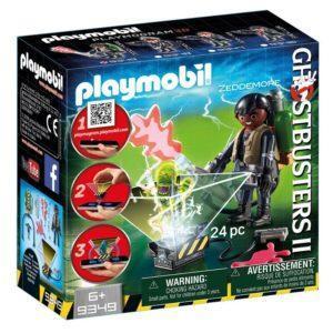 Игровой набор Playmobil «Охотник за привидениями: Уинстон Зеддемор» (арт. 9349)