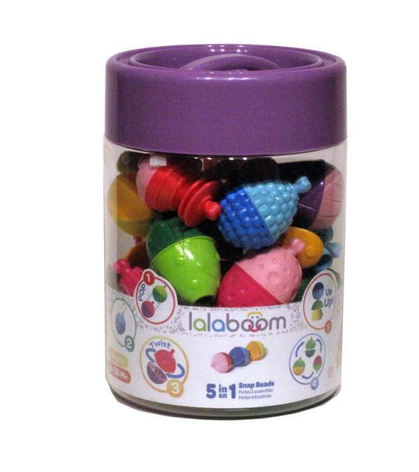 Игрушка развивающая 5 в 1 Lalaboom (48 предметов, арт. BL400)