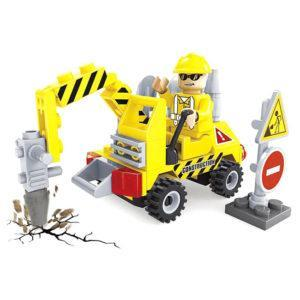 Конструктор Ausini «Городские строители: Машина с гидромолотом» (70 деталей, арт. 29301)