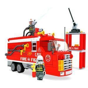Конструктор Ausini «Пожарная бригада: Пожарная машина» (309 деталей, арт. 21601)