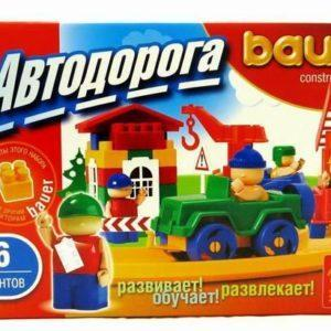 Конструктор Bauer «Автодорога» (136 элемента, арт. 248)